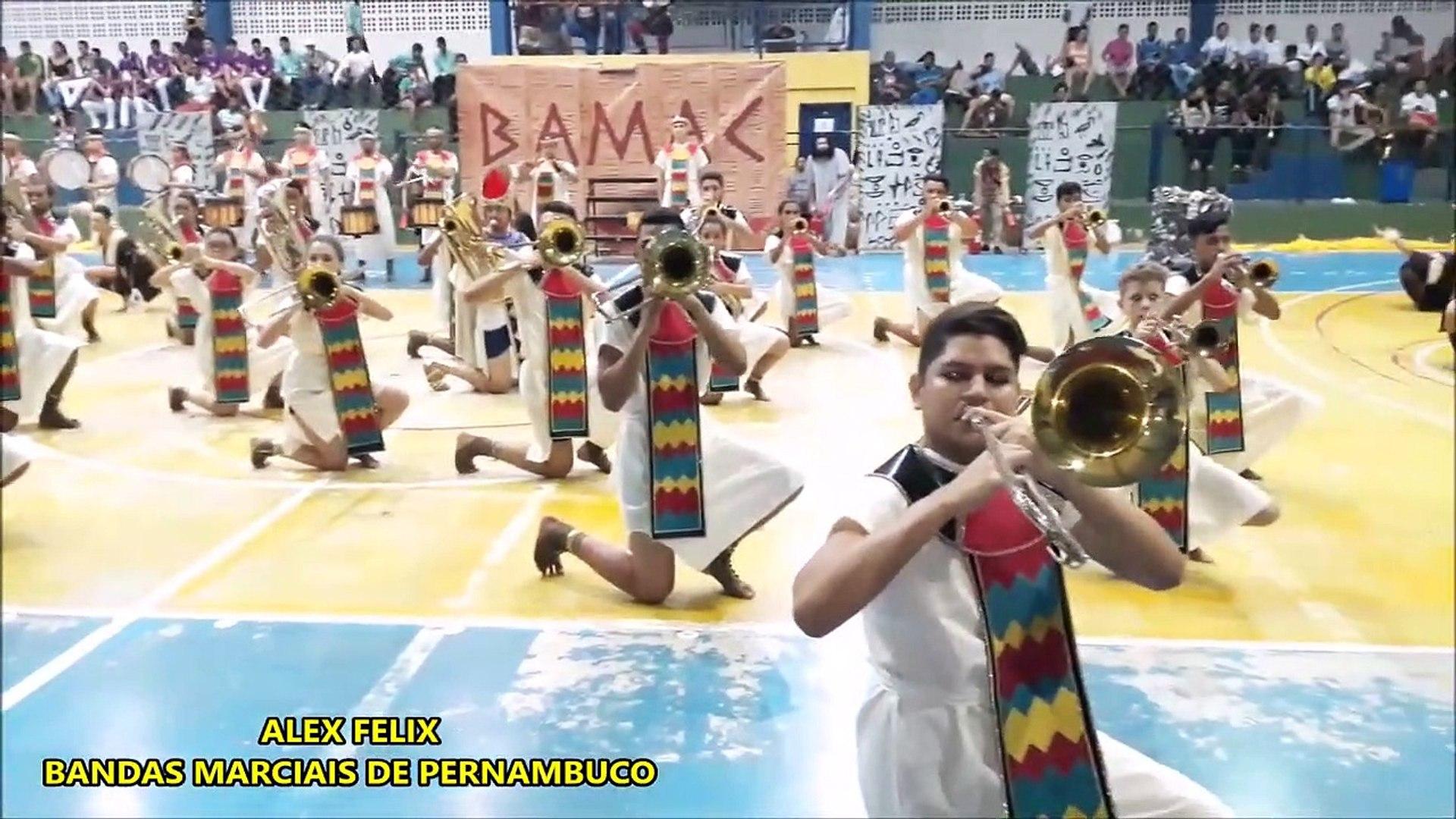 BAMAC 2018 - VI COPA NACIONAL DE CAMPEÃS DE BANDAS E FANFARRAS - PARNAMIRIM - RN - BANDA SHOW BAMAC