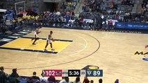 Alize Johnson Posts 16 points & 13 rebounds vs. Windy City Bulls