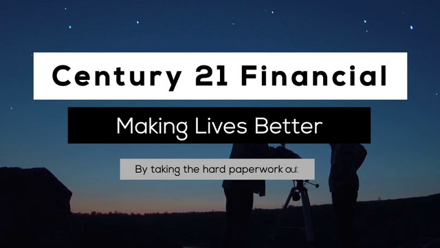 [EDIT/VOICE] Century 21 Financial - Promotional Video