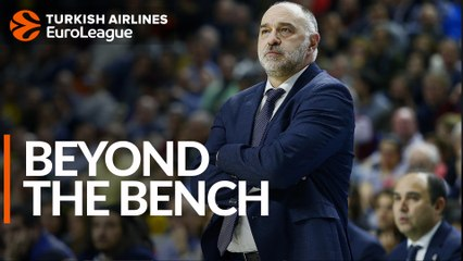 Beyond the bench: Pablo Laso, Real Madrid