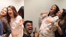Sacred Games actress Surveen Chawla enjoys Baby Shower with friends; Check out | FilmiBeat