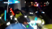 옛 노량진 수산시장 진입로 봉쇄…상인-수협 '충돌'
