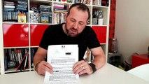 DOUBS Frédéric Vuillaume gilet jaune a reçu un courrier du préfet