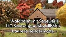 Eisenbahn im Wald mit Sägewerk - H0 Schmalspur Modellbahn Diorama aus Belgien - Ein Film von Pennula zum Thema Modellbau und Eisenbahn