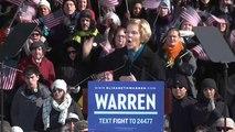 La sénatrice Warren candidate à l'élection présidentielle américaine de 2020