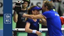 Fed Cup Belgique France : les réactions du samedi soir