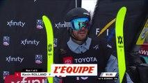 Kevin Rolland 2e du half-pipe - Ski Freestyle - ChM (H)