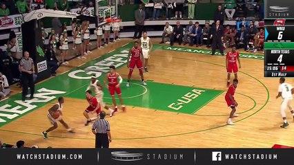 Western Kentucky vs. North Texas Basketball Highlights (2018-19)