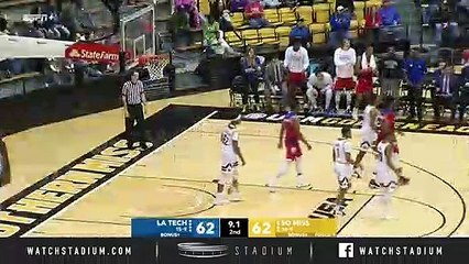 Louisiana Tech vs. Southern Miss Basketball Highlights (2018-19)