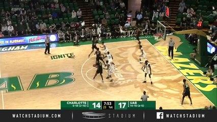 Charlotte vs. UAB Basketball Highlights (2018-19)