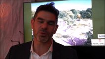 Brice Le Faux directeur du zoo de Mulhouse présente l'espace Afrique