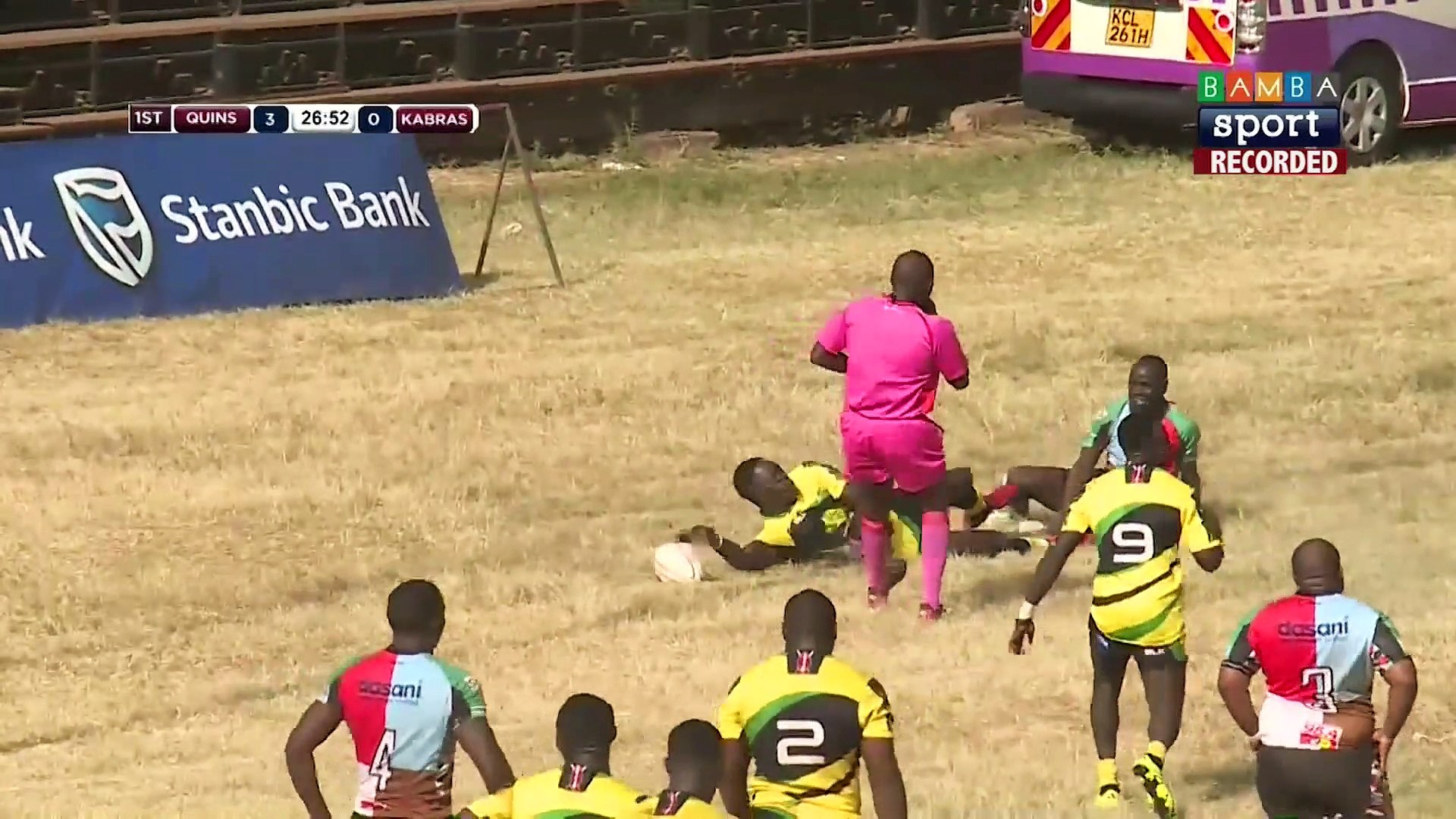 Kenya Cup Highlights: Kabras Sugar vs Kenya Harlequins