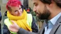 Mons : les Gilets jaunes ont rencontré Georges-Louis Bouchez