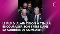 """PHOTO. """"Une pure gueule de cinoche"""" : Anthony Delon encourage son frère, Alain-Fabien Delon, dans sa carrière d'acteur"""