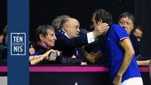 Fed Cup Belgique France : la réaction du président Bernard Giudicelli