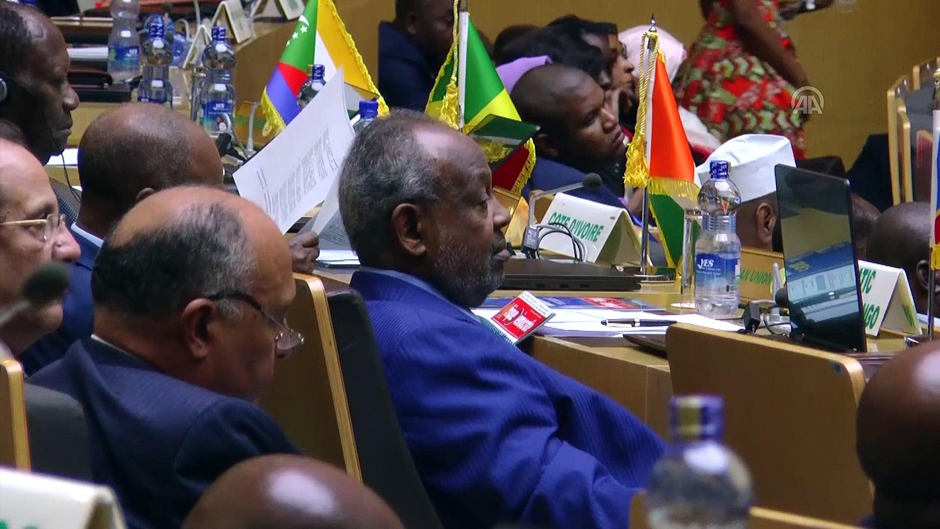 FIFA Başkanı Infantino: 'Afrika, futbolla birçok problemin üstesinden gelebilir' - ADDİS A