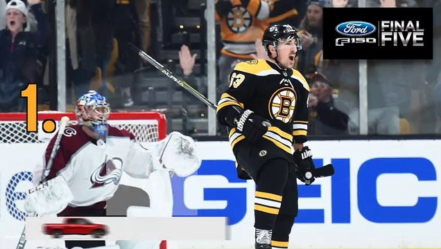 Ford Final Five Facts: Brad Marchand Lifts Bruins In OT Once Again
