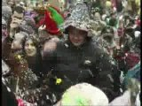 Bataille de confettis du 134e Carnaval de Monthey en 2006