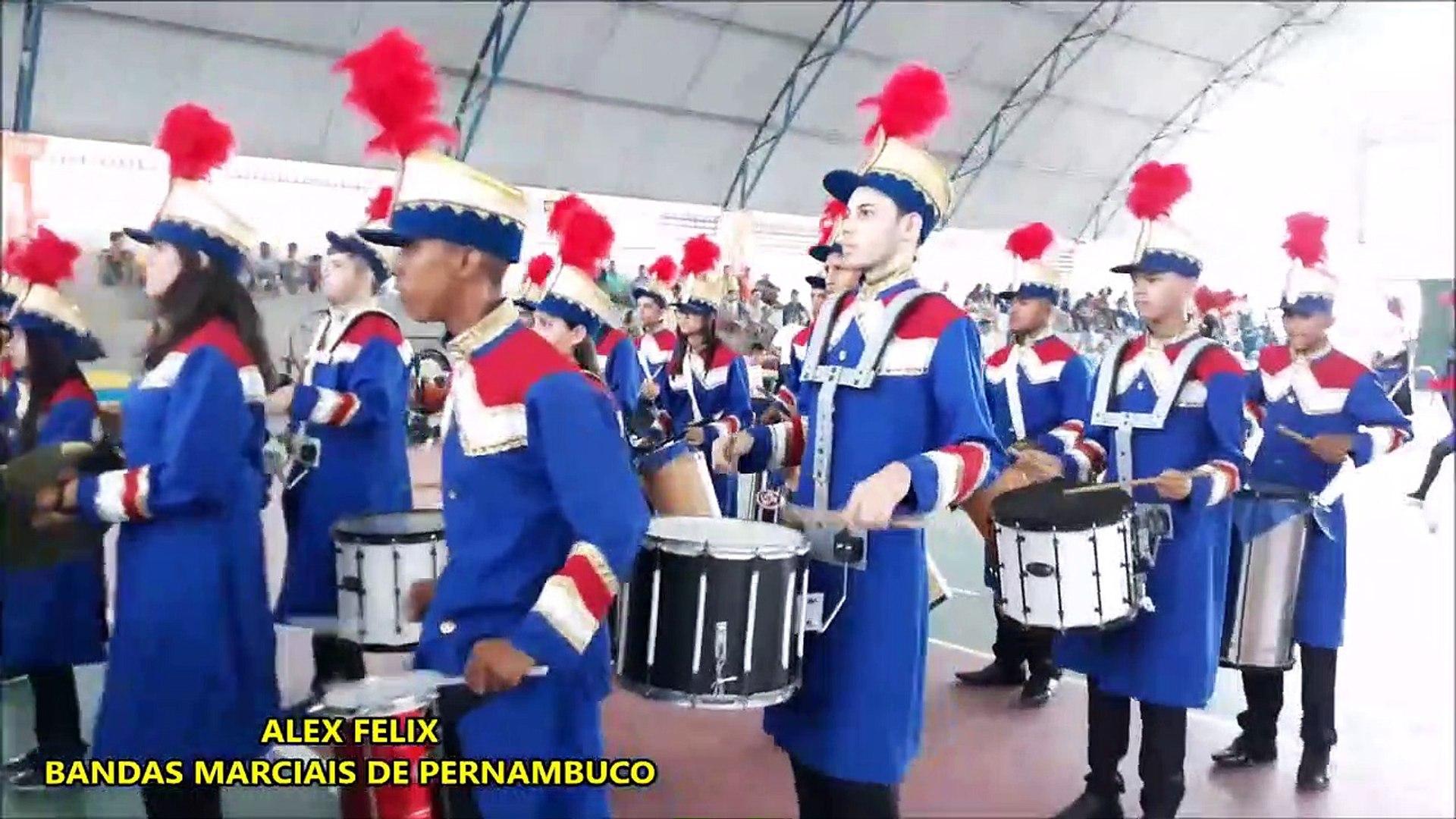 Banda De Percussão Professor Lima Castro 2018 - XI COPA NORDESTE NORTE DE BANDAS E FANFARRAS