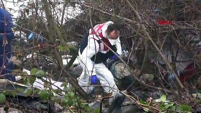 Bolu Dağı'nda yol kenarına atılan valizin içinden ceset çıktı
