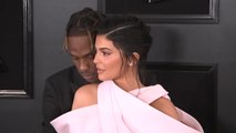 Grammys 2019: Kylie Jenner walks red carpet with Travis Scott in Balmain Couture
