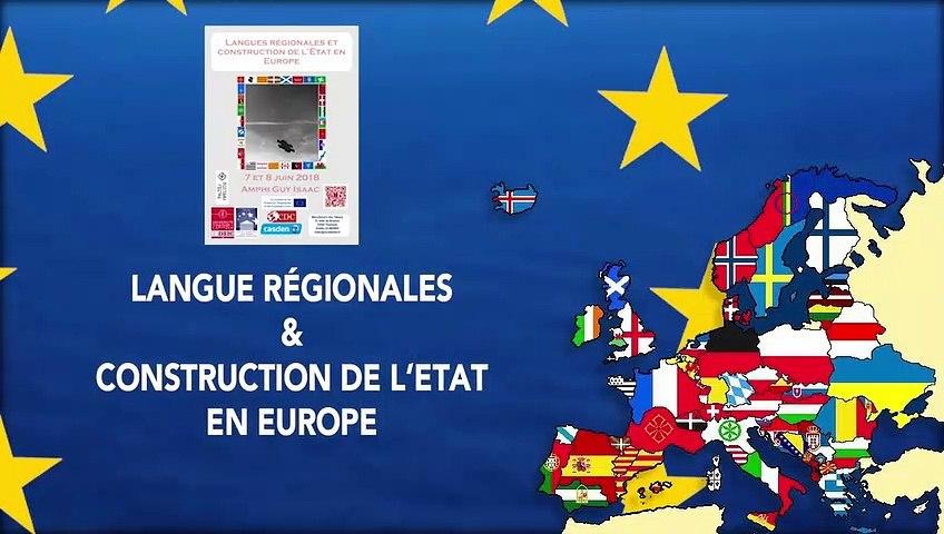 « Langues régionales et identité culturelle : la bataille des mots en Bretagne », Jean-Eric Gicquel, Professeur de droit public à l'Université de Rennes I