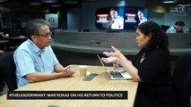 Roxas on Senate bid: 'I'm not here to re-do 2016'