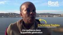 """""""J'ai confiance dans la nouvelle génération"""" : Le message de Christiane Taubira à la jeunesse"""