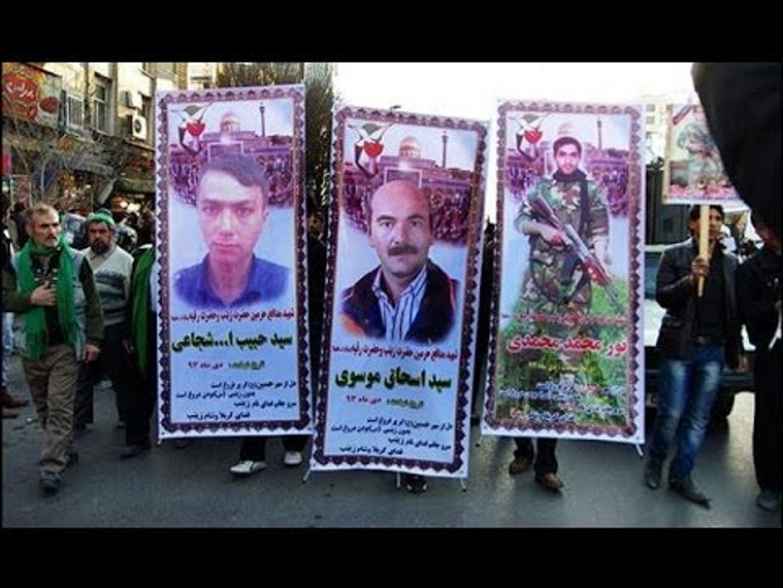 شاهد كيف يتم حشد الأفغان الشيعة لقتل السوريين في فيلم وثائقي إيراني  - هنا سوريا