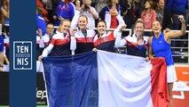 Fed Cup Belgique France la minute bleue n°6 : victoire !