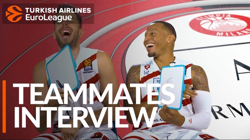 Teammates Interview: AX Armani Exchange Olimpia Milan