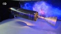 Üç boyutlu yazıcıdan çıkan roket motoru
