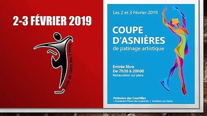 Léa Portier à Asnières le  2 Février 2019