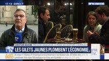 """Pour le président de l'association """"à la ronde des quartiers"""" à Bordeaux, des commerçants déposent le bilan à cause des gilets jaunes"""
