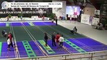 Qualifications 1 du tir de précision (tirs féminins), première Coupe du Monde Mixte de tirs sportifs, Saint-Vulbas 2019