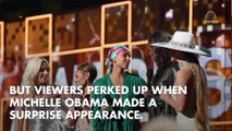 Michelle Obama Steals The Show W/ Surprise Appearance At 2019 Grammys