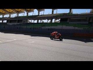 Ducati at the Sepang Shakedown Test