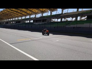 KTM at the Sepang Shakedwon Test