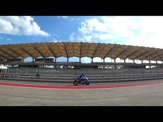 Suzuki at the Sepang Shakedown Test