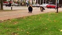 Un marquage au sol pour aider les cyclistes
