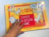Cahier de Dessin anḿ - Les Fables de La Fontaine
