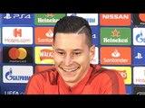 Julian Draxler Full Pre-Match Press Conference - Manchester United v PSG - Champions League