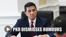PKR dismisses rumours of Azmin being sacked from party