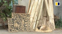 Weaving bamboo into QR codes