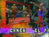 Canek/Dr Wagner Jr vs Ricky Santana/Miguel Perez Jr (UWA June 20th, 1992)