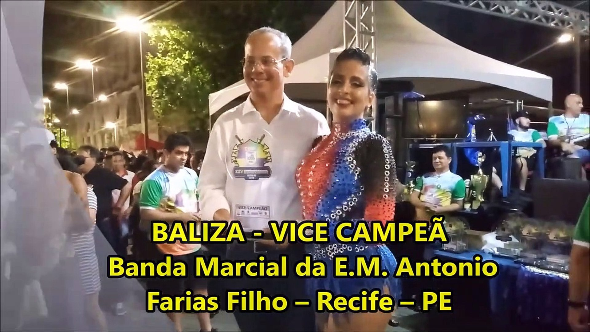 CNBF - 2018 - RESULTADO BANDA MARCIAL SÊNIOR - XXV CAMPEONATO NACIONAL DE BANDAS E FANFARRAS