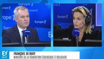 """Pour François de Rugy, """"il ne faut pas voir quoi que ce soit de politique"""" dans la démission d'Ismaël Emelien"""