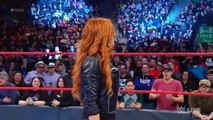 Raw: Vince McMahon replaces Becky Lynch with Charlotte Flair and Vince suspends Becky