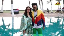 Alia Bhatt BOLD hip-hop over Ranveer singh at Promotion of Film Gully Boy At Novetel Juhu.