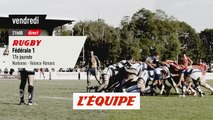 Narbonne vs Valence-Romans, bande-annonce - RUGBY - FÉDÉRALE 1